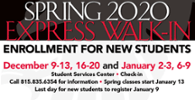 Express Walk-in for New Students